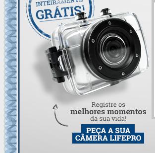 Registre os melhores momentos da sua vida! - Peça a sua câmera LifePro